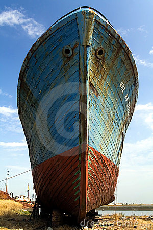 Free Old Fishing Ship Stock Images - 2524174