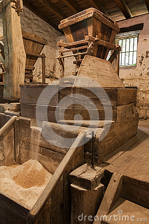 Free Old Flour Mill Stock Photo - 62959120