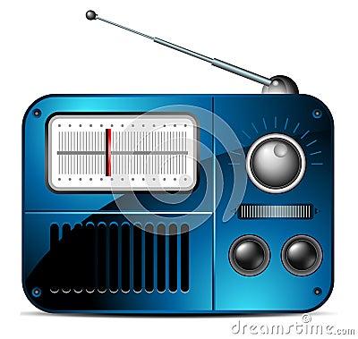 Free Old FM Radio Icon Royalty Free Stock Photos - 16537188