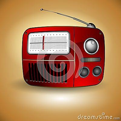 Free Old FM Radio Icon Royalty Free Stock Photos - 21415188