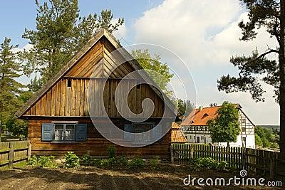 Old folk cottage