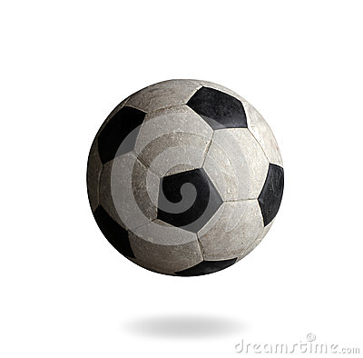 Old football the sporting goods