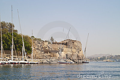 Old fort, Aswan, Egypt.