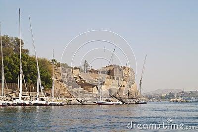 Old fort, Aswan, Egypt.