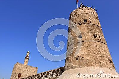 Old fort in dubai, united arab emirates