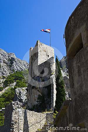 Old fort in Omis