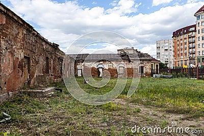 Old Fort of Omsk