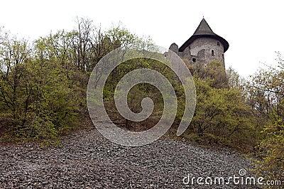 Old fort in Somoska, Slovakia