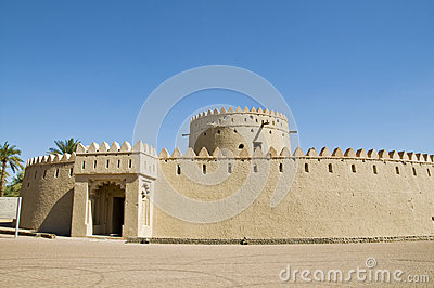 An old fort, UAE