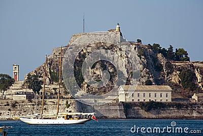 Old fortress at corfu