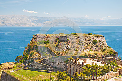 Old Fortress at Corfu