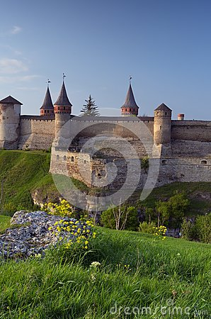 Old fortress on the hill