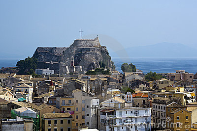 Old fortress at Kerkyra, Corfu, Greece