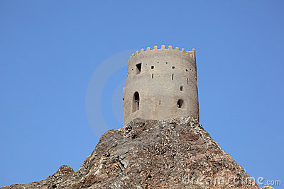 Old fortress in Muscat, Oman