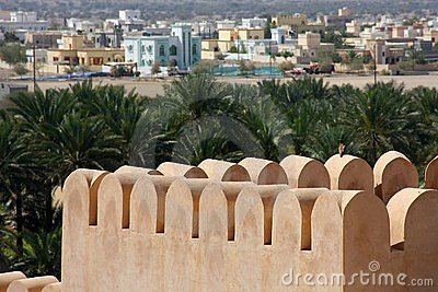 Old fortress in Oman