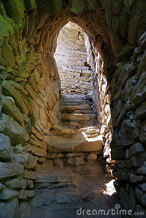 Free Old Fortress Stairs Stock Photos - 11209433