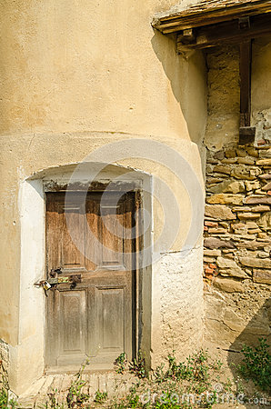 Old Fortress Tower Door