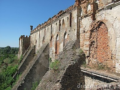 Old Fortress Wall Stock Photo - Image: 15897050