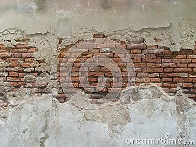 Old fortress wall in Bangkok