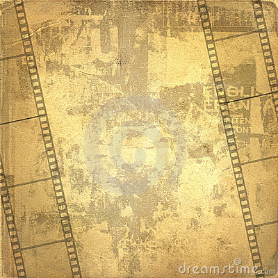 Old frame and grunge  filmstrip