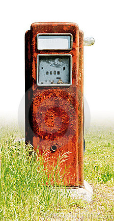 Old fuel pump rust