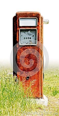 Old fuel pump rust