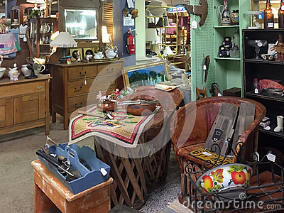 Old Furniture And Furnishing Selling Editorial Image