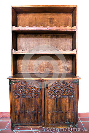 Free Old Furniture Wooden Carved Royalty Free Stock Images - 45174379
