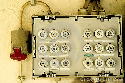 old fuse box stock photo image 51081075