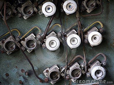 old fuse box stock photo image 51081075