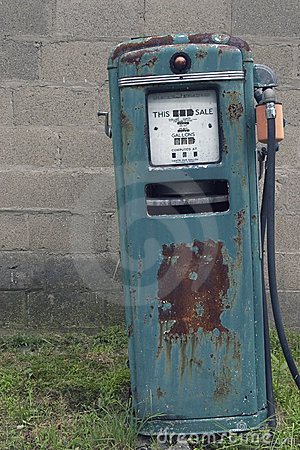 Free Old Gas Pump Stock Images - 171014