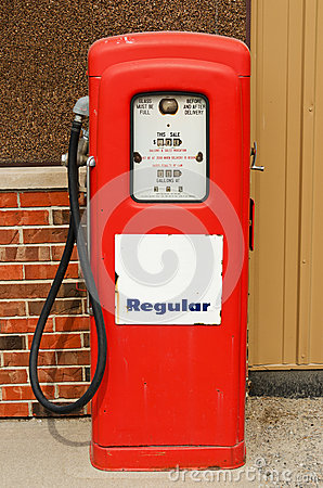 Free Old Gas Pump Stock Images - 25488484