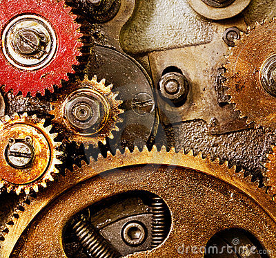 Free Old Gears Stock Images - 16532214