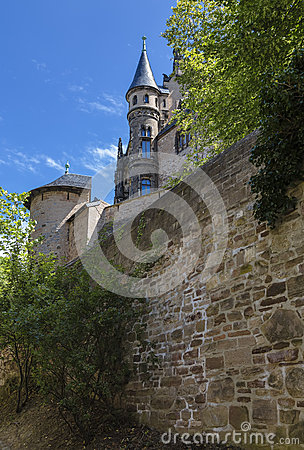 Free Old German Castle Stock Photo - 55430800