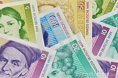Old german currency