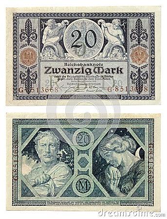 Old German Money