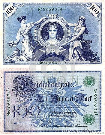 Old German money 2