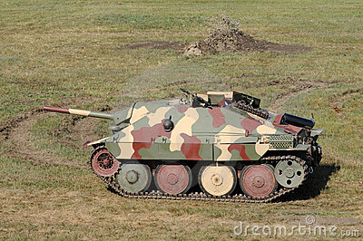 Old German tank