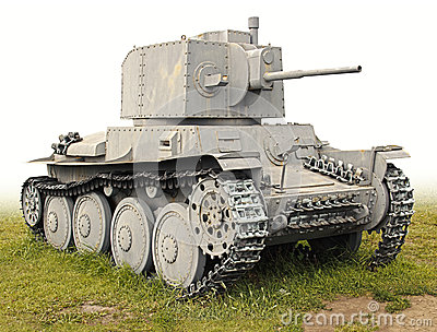 The old German tank PzKpfw 38(t)