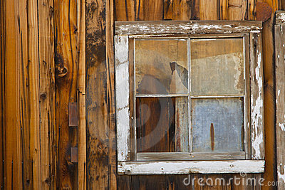Old Ghost Town Window
