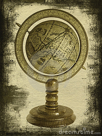 Free Old Globe Royalty Free Stock Images - 5925979