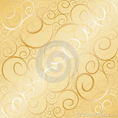 Old gold swirl