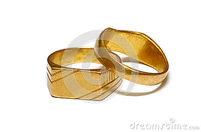 old wedding ring isolated jewelry - Old Wedding Rings