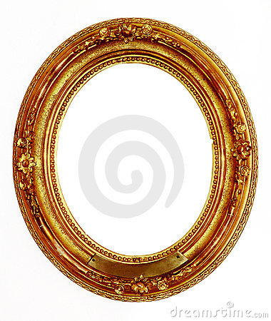 Free Old Golden Frame Stock Photos - 566113