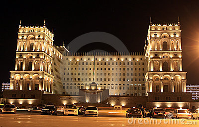 Old Government House in Baku