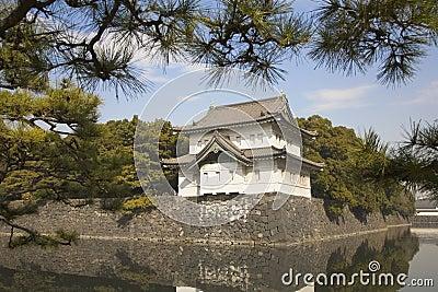 Old governmet castle in Tokyo
