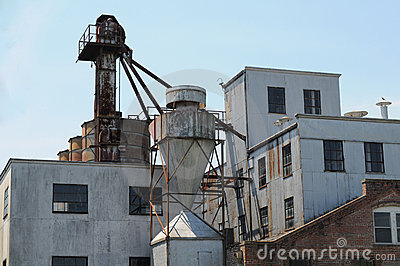 Old grain mill