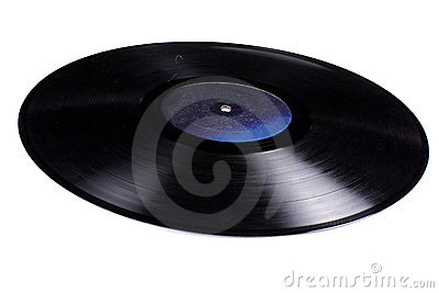 Old Gramophone Record