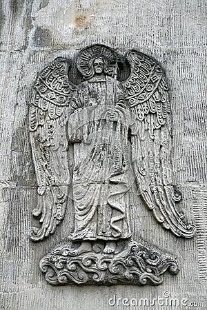 Old grave angel