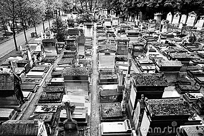 Old graveyard in Paris